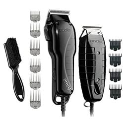 Andis Barber Combo-Powerful High-speed adjustable clipper blade