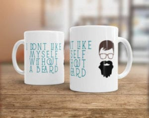 I dont like myself without beard