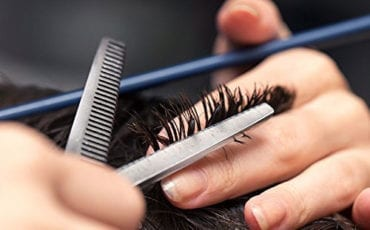 how to use hair thinning