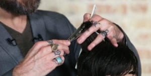 thinning shears barber